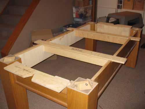 Assembling Ace Billiards Calgary - Dufferin pool table