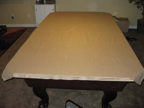 replace pool table cloth calgary